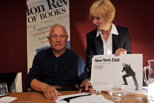 Denise Gibbons with Steven Berkoff