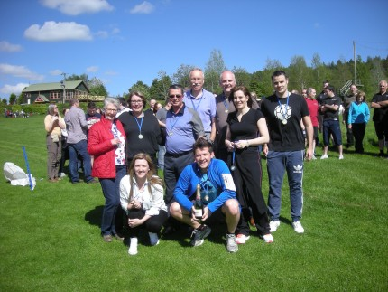 Condies, Dunfermline enjoyed a sunny afternoon of team building activities at Crieff Hydro - and the winning team certainly enjoyed their Champagne!